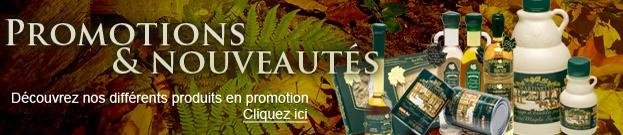 Promotions & nouveautés - Découvrez nos produits en promotions