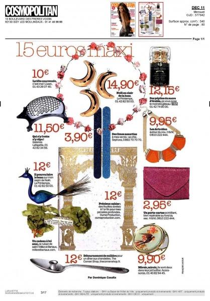 La revista Cosmopolitan en Francia