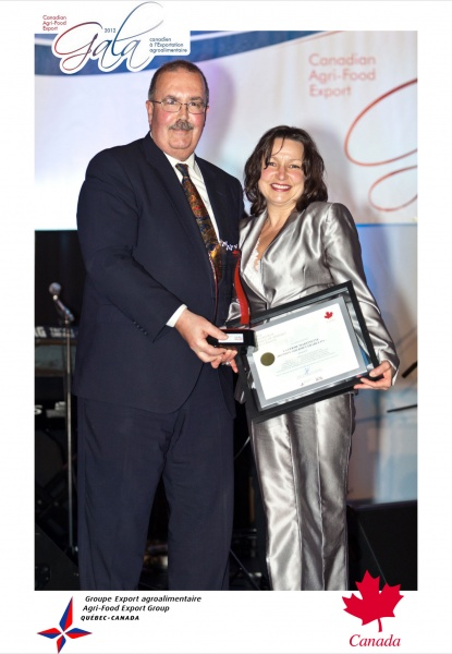 2012 Canada Brand Image Award