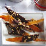 Cáscaras de toronja confitadas con jarabe puro de maple