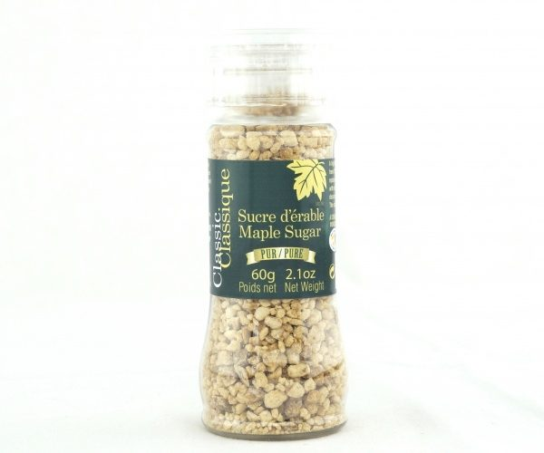 Azúcar de maple puro – Con tapa-molino de 60g