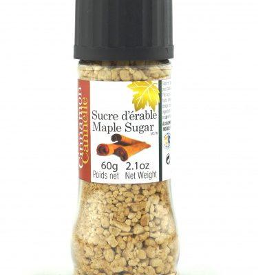Azúcar de maple- Canela, 60g, Tapa-molino