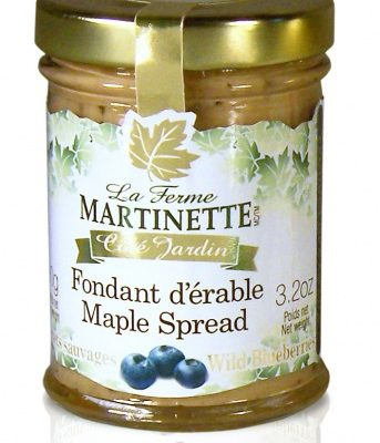 Crema de maple y blueberry (Acianos)-Tarro de vidrio de 90g