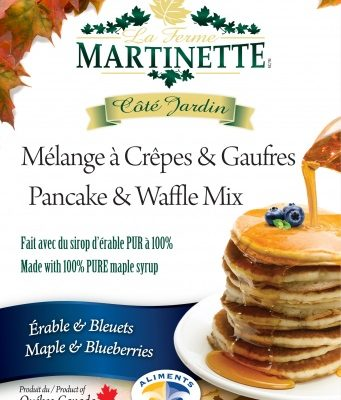 Harina para hot-cakes, maple-blueberry (con acianos) 500g