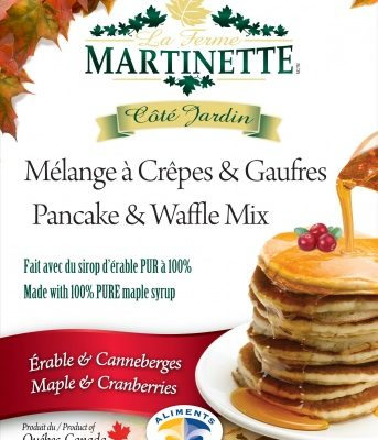 Harina para hot-cakes, Maple-arándanos 500g