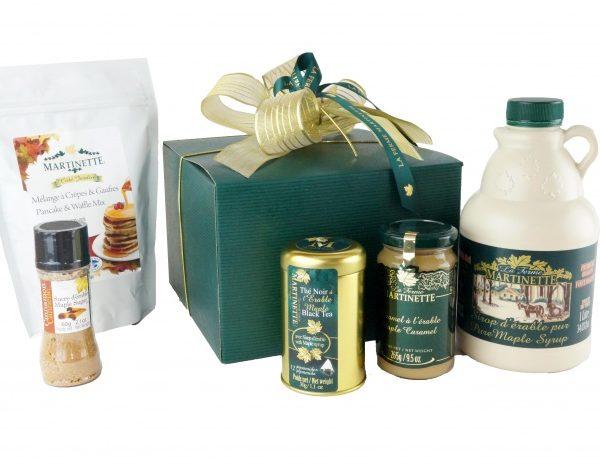 Desayuno maple-caja de regalo
