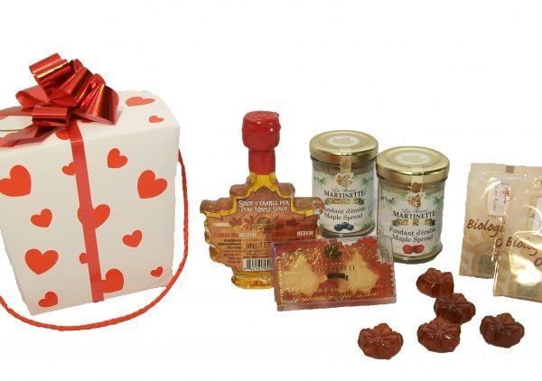 Pequeño San Valentín de maple