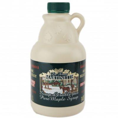 Jarabe puro de maple – Sabor delicado de oro – jarra de plástico 1L / 34 US fl oz