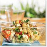 Ensalada de quinoa, menta y maple