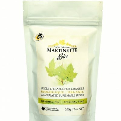 ORGANICA Azúcar de maple granulado FINO-200g