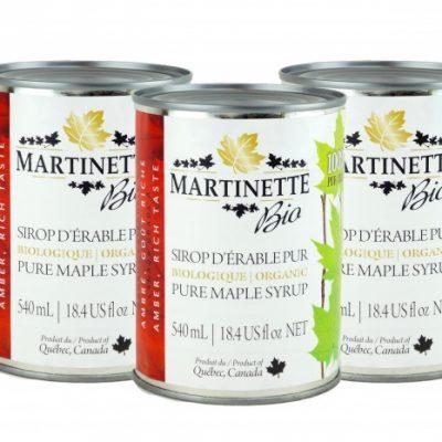 ORGANICA Jarabe puro de maple Canada A -Canada A ÁMBAR, Sabor Rico 3x540ml cans