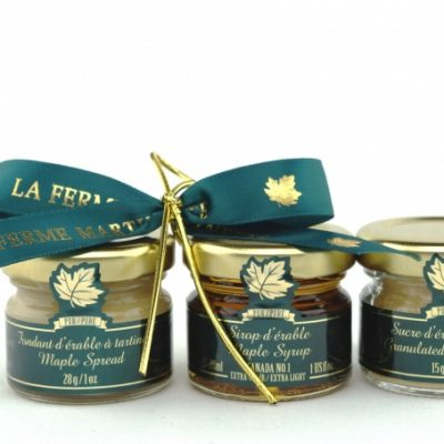 TRIO MIGNONS clásico de maple, 3 tarros de vidrio-Regalo-Therma