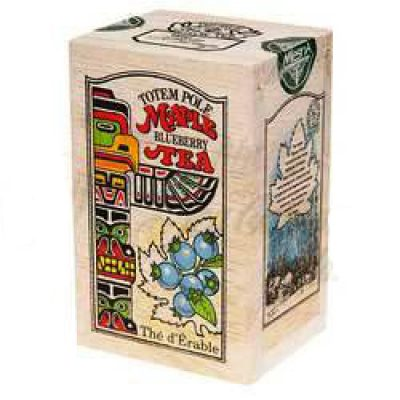 Té de Maple y arándanos 24g-Caja de madera-TOTEM POLE