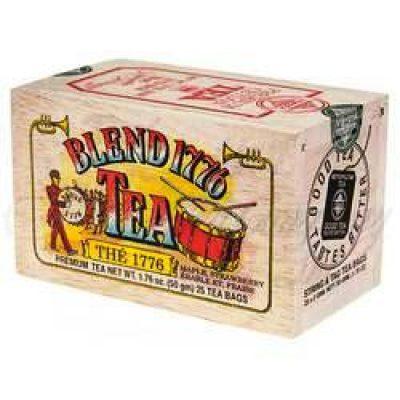 Té de Maple y fresas 50g-Caja de madera-BLEND 1776