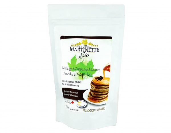 ORGANICA Harina para hot-cakes maple-chocolate 250g
