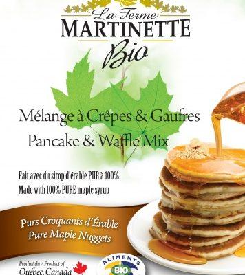 ORGANICA Harina para hot-cakes Pepitas de maple 250g