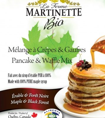 ORGANICA Harina para hot-cakes Maple-bosque negro 500g