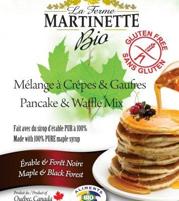 SIN GLUTEN ORGÁNICA Harina para hot-cakes maple-bosque negro 250g