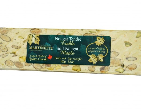 Maple blando Turrón 100g-bar