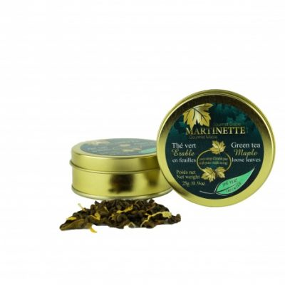 Té verde de Maple 25g – deja suelta la lata