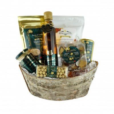 Fantástico MAPLE – cesta de regalo de corteza de abedul