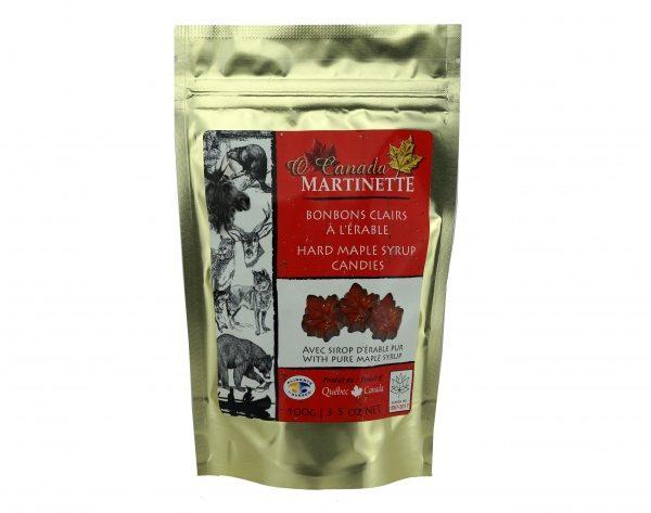 O CANADA – Caramelos duros de Maple CLARO- 100g