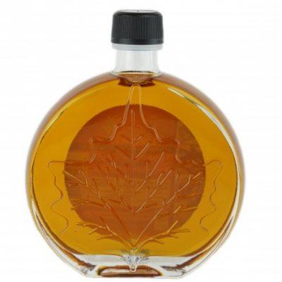 O CANADA – Jarabe puro de maple 250ml ÁMBAR, Sabor Rico- Hoja medallón