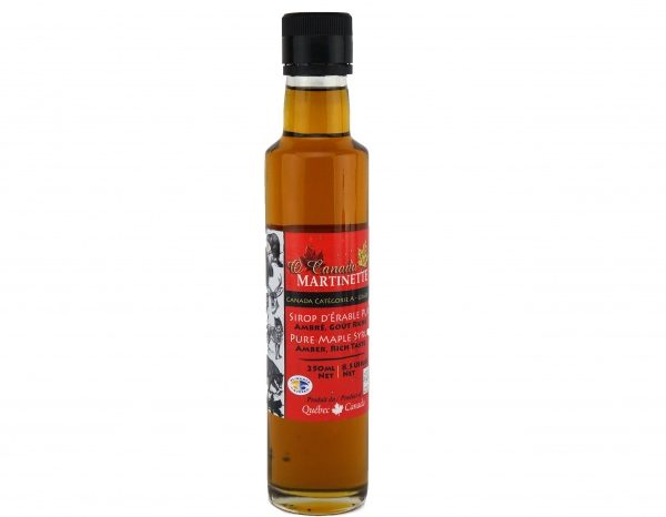 O CANADA – Jarabe puro de maple 250ml ÁMBAR, Sabor Rico – Classico