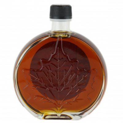 O CANADA – Jarabe puro de maple 250ml OSCURO, Sabor Robusto- Hoja medallón