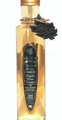 Vinagre puro de maple- Botella de vidrio 250ml- 8.5 US Fl.oz