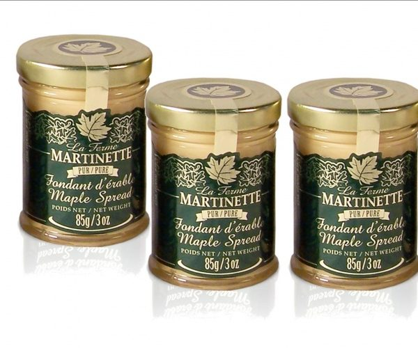 Fondant puro de maple (crema de maple) -3x 85g envases de vidrio