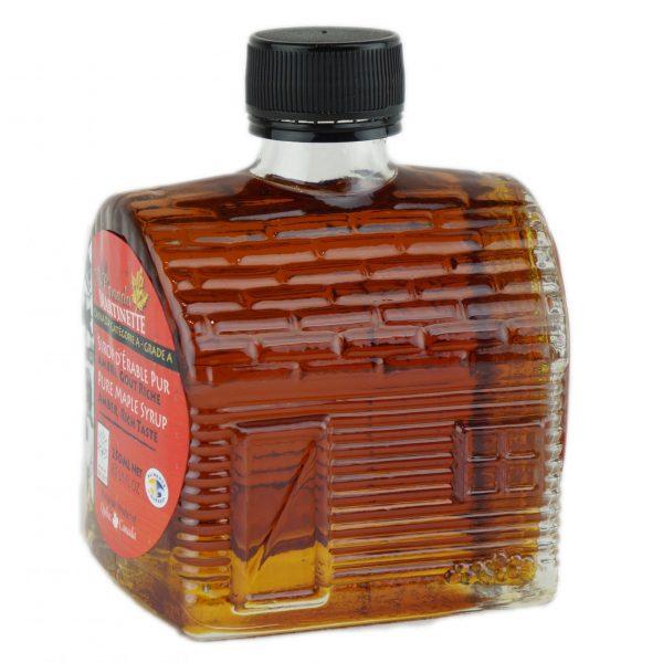 O CANADA – Jarabe puro de maple 250ml ÁMBAR, Sabor Rico- Cabaña de azúcar