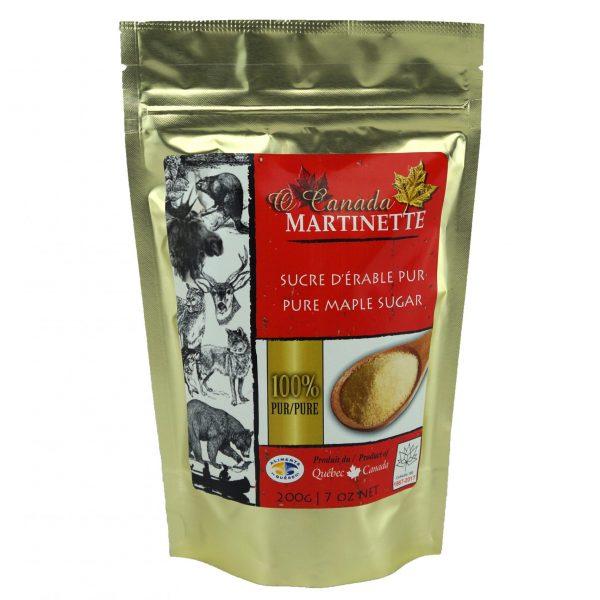 O CANADA – Azúcar de maple granulado FINO – 200g