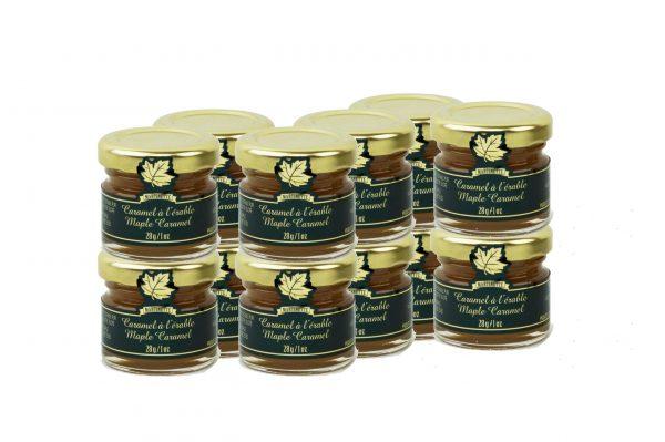 Caramel d'érable pots mignons12x28g