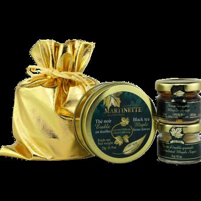 Packaging Oro – Té para dos