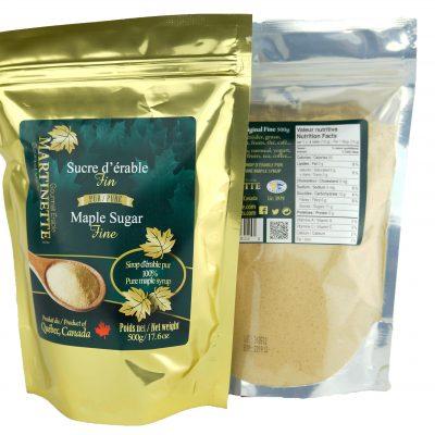 Azúcar de maple granulado 500g FINO