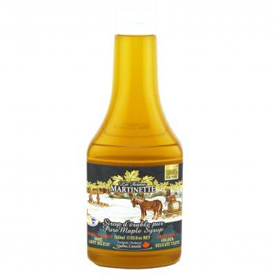 Jarabe puro de maple 500ml -CANADÁ A- Dorado, sabor delicado- Botella exprimida