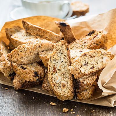 Biscotti al maple con nuez y limón