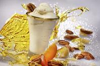 Nougat helado de maple y nueces