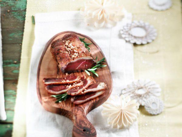 Filetes de pato al maple