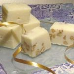 Fudge de maple blanco praliné