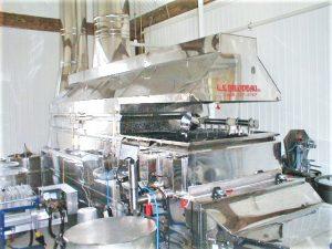 Equipo producir jarabe maple: evaporador moderno
