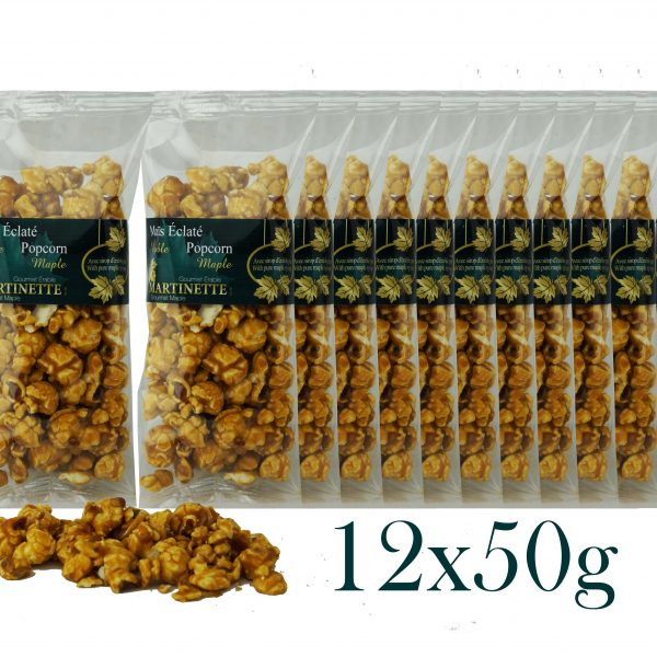 Palomitas de maple 12x50g -bolsa