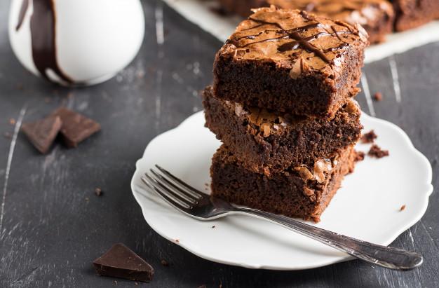 Brownies al maple