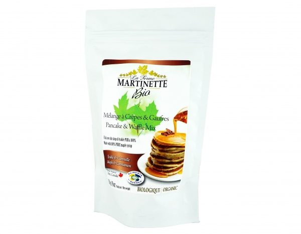 ORGANICA Harina para hot-cakes maple-canela 250g