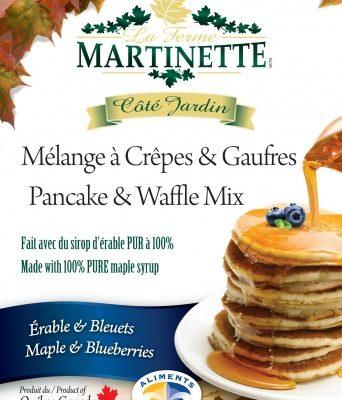 Harina para hot-cakes, maple-blueberry (con acianos) 250g