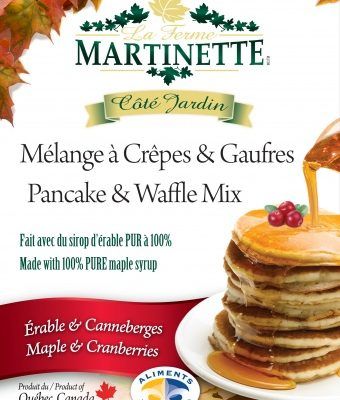 Harina para hot-cakes, maple-cranberry (con arandanos) 250g
