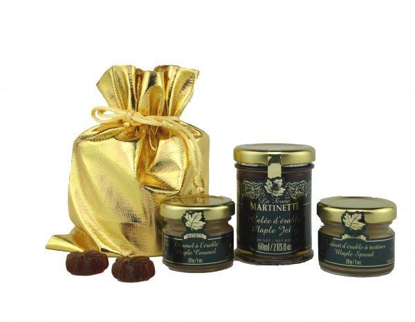 Packaging Oro – Desayuno para dos