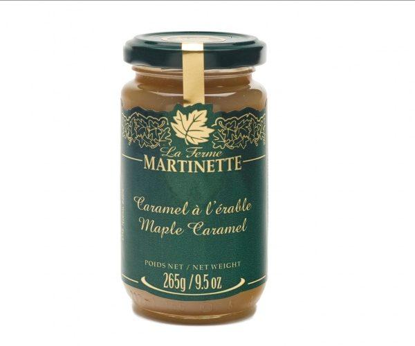 Caramelo de maple, tarro de vidrio de 265g/ 9.5 oz