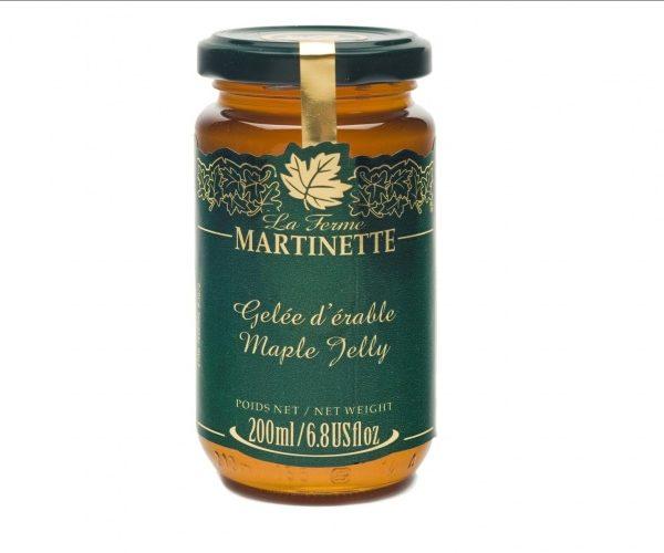 Jalea de maple 200 ml-Tarro de vidrio